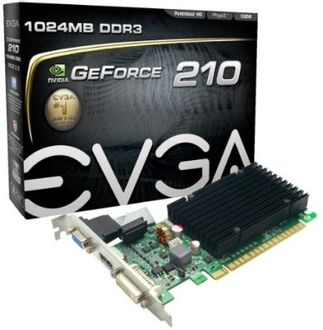 EVGA GeForce 210 (01G-P3-1313-KR) 1GB DDR3 Graphics Card