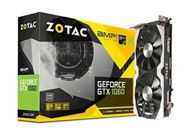 Zotac Geforce GTX 1060 (ZT-P10600B-10M) 6GB DDR5 Graphic Card