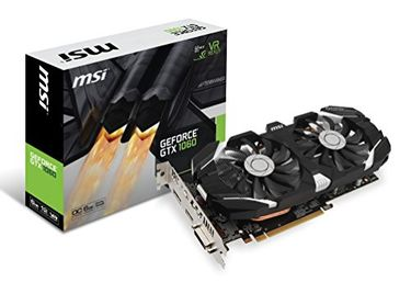 MSI GeForce GTX 1060 6GT OC 6GB GDDR5 Graphics Card