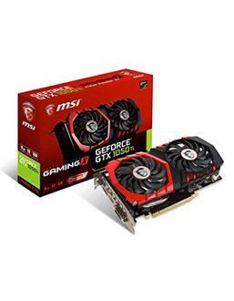 MSI GeForce GTX 1050 Ti GAMING X 4G 4GB GDDR5 Graphics Card