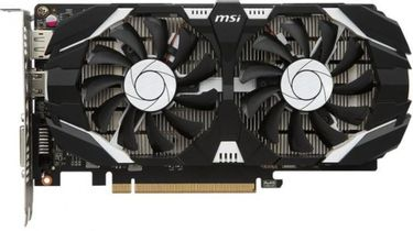 MSI GEFORCE GTX 1050 TI 4GT OC 4GB GDDR5 Graphic card