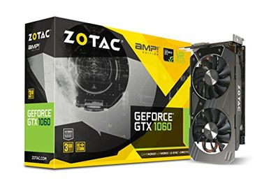 Zotac GeForce GTX 1060 (P10610E-10M) 3GB DDR5 Graphic card