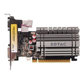Zotac NVIDIA GT 730 (ZT-71115-20L) 4 GB DDR3 Graphics Card