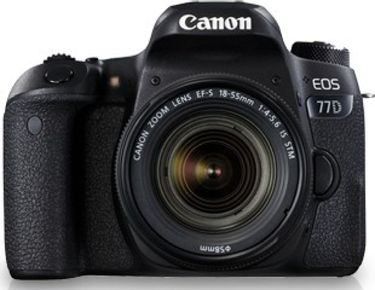 Canon EOS 77D DSLR (With EF-S18-55 IS STM Lens)