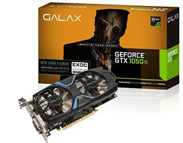 Galax GeForce GTX 1050 Ti  EXOC DDR5 Graphic Card