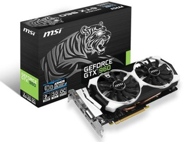 MSI NVIDIA Geforce GTX 960 Gaming 2 GB GDDR5 Graphics Card