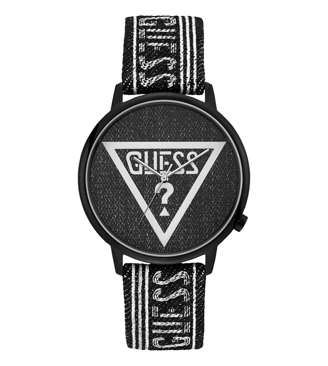 GUESS WV1012FMSWC Black Dial Watch for Men